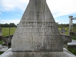 Mrs Ann Eleanor <i>Littell</i> Millard