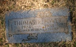 Thomas Richard Tommy Power