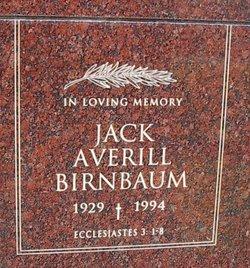 Jack Averill Birnbaum