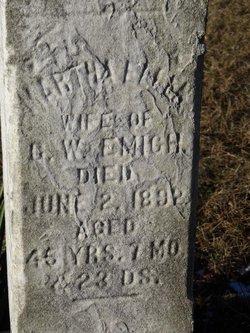 Martha Ellen <i>Askey</i> Emigh