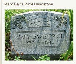Mary <i>Davis</i> Price