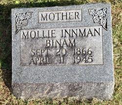 Mary Catherine Mollie <i>Innman</i> Binam