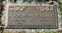 Nora Jean Jean McHenry