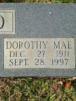 Dorothy Mae <i>Walker-Dixon</i> Sheffield