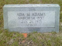 Ada M. Adams
