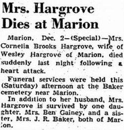 Cornelia <i>Brooks</i> Hargrove