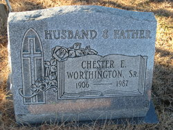 Chester E Worthington, Sr