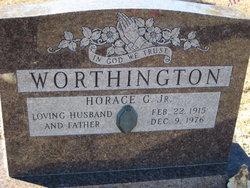 Horace G Worthington, Jr