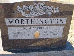 Ida M. Dyitt <i>Wood</i> Worthington