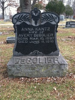 Anna <i>Kantz</i> DeGolier
