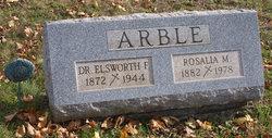 Dr Elsworth Frederick Arble