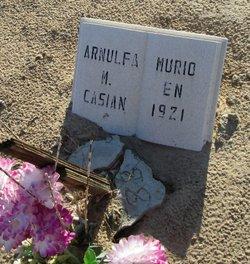 Arnulfa <i>Madrigal</i> Casian