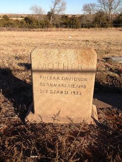 Pheba Ann <i>Larkins</i> Davidson