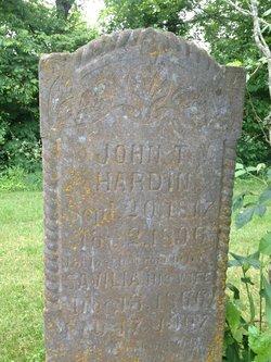 John T. Hardin