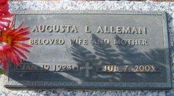 Augusta Gussie <i>Leger</i> Alleman