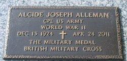 Corp Alcide Joseph A. J. Alleman