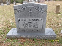 Rev John Quincy Adams, Jr
