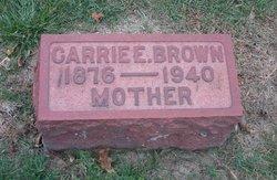Carrie E. <i>Cheesman</i> Brown