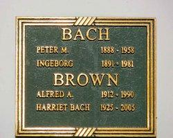 Ingeborg Magdalene <i>Madsen</i> Bach