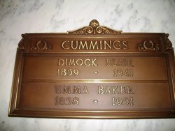 Emma <i>Baker</i> Cummings