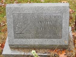 Annette Josephine Howard