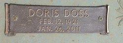 Doris <i>Doss</i> Amos