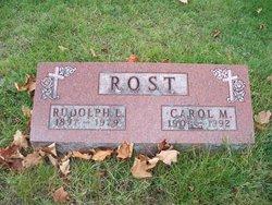 Carol M <i>Grady</i> Rost