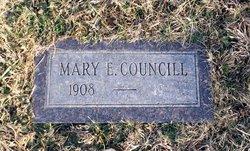 Mary Ellen <i>Martin</i> Councill