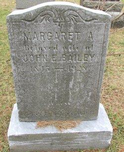 Margaret A. <i>Jones</i> Bailey