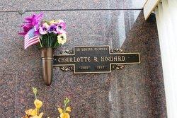 Charlotte R Howard