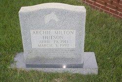 Archie Milton Hutson