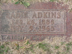 Zadie Adkins