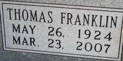 Thomas Franklin Tom Baker