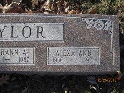 Alexa Ann Taylor