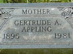 Gertrude Clara <i>Appling</i> Appling