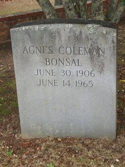 Agnes <i>Coleman</i> Bonsal