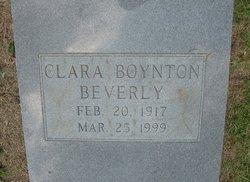 Clara Nell <i>Boynton</i> Beverly