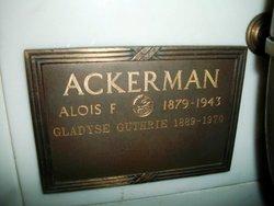 Alois Frederick Ackerman