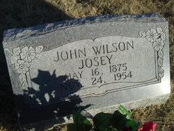 John Wilson Josey