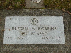 Russell W Robbins