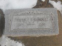 Florence <i>Bird</i> Hamoutz