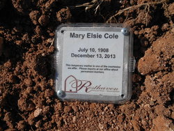 Mary Elsie <i>Cone</i> Cole