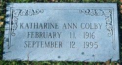 Katherine Ann <i>Faulder</i> Colby