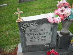 Roxie Bell <i>Bowers</i> Blevins