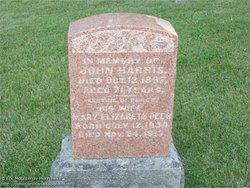 Mary Elizabeth <i>Peer</i> Harris