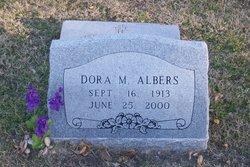 Mrs Dora Minna <i>Kreder</i> Albers