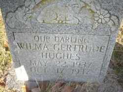 Wilma Gertrude Hughes