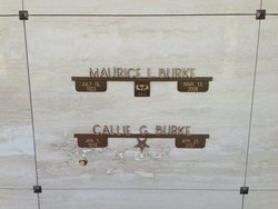 Mrs Callie Belle <i>Gowder</i> Burke