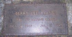 Berry Lee Barnes, Jr