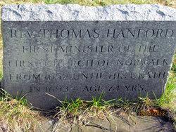 Rev Thomas Hanford
